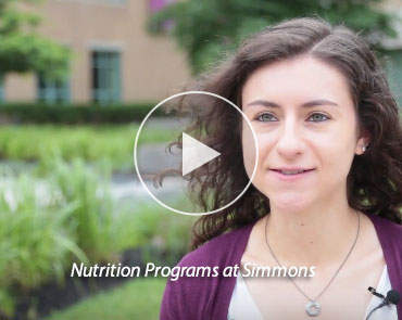 Nutrition Programs at Simmons Video