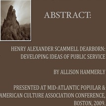 Allison Hammerly - Abstract to her Paper