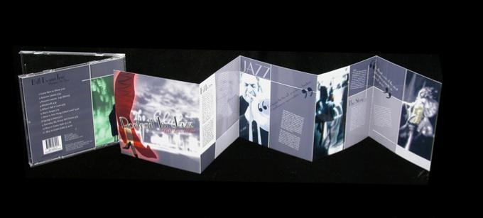 expressive typography cd design student portfolio